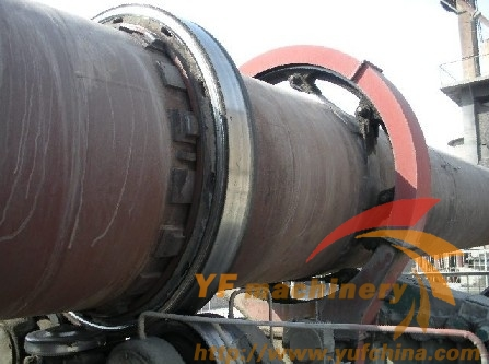 0.8-105 T/H Light Expanded Clay Aggregate Rotary kiln