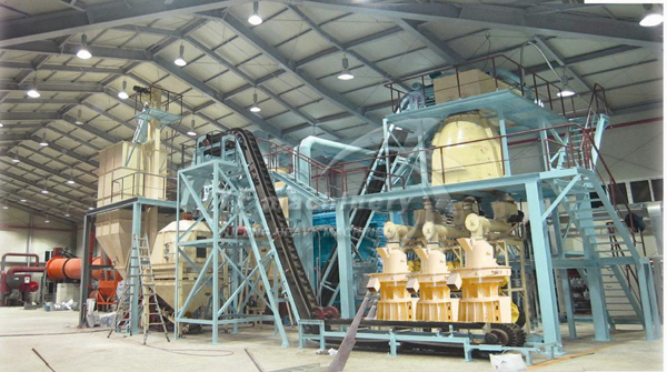 Complete pellet plant crusher ball mill